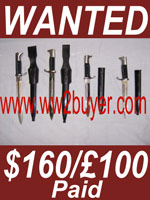 Prices German Bayonets Wanted Values