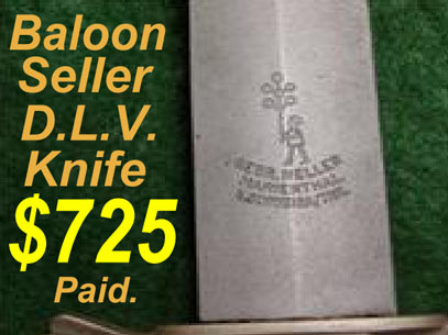 Baloon seller valuation DLV knife