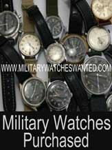 Military Watches Purchased