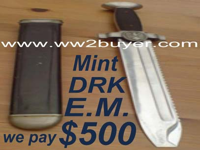 DRK Hewer Saw Back Red Cross German Dagger Price