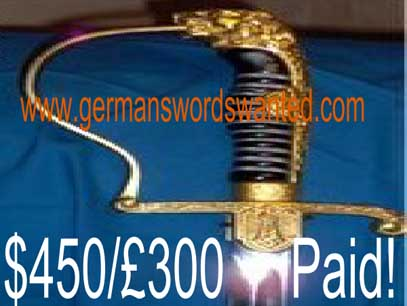 WKC TM sword sabel Eickhorn E Pack E&F Horster Nazi German