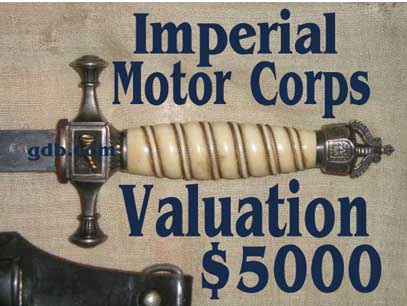 Imperial moter dagger valuation
