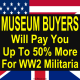 """""""MILITARIA""""SAFEGUARDS AGAINST BEING SCAMMED . ALWAYSOBTAIN SEVERAL OPINIONS WHEN CONSIDERING THE SALE OF MILITARIA ONLINE. NEVER GET SEDUCED BY THE LINES SUCH AS """"I AM A MILITARIA COLLECTOR""""  COLLECTORS WHO SPEND THOUSANDS ON ADVERTISING ARE DOING SO FOR FINANCIAL REWARD EVEN IF THEY BUY AS PART OF THEIR PENSION SCHEME .. LOOK FOR A VAT NUMBER AND SEARCH THE GIVEN ADDRESS ON GOOGLE EARTH. IF IT IS A DOMESTIC RESIDENCE, A CAB OFFICE,OR SIMILAR WHICH FAILS TO MEASURE UP TO YOUR EXPECTATIONS MOOVE ON.  ALWAYS MAKE SURE YOU ARE BEING PAID USING THE """"PAYPAL """" SERVICE AND THAT THE BUYER WILL PROVIDE PAYMENT FOR SHIPPING COSTS.  GENUINE MUSEUM BUYERS ARE THOSE WITH A TRACK RECORD OF PROVIDING EXHIBITS FOR REGIMENTAL AND MILITARY MUSEUMS . SUCH BUYERS WILL PAY MORE THAN THE ESTABLISHED VALUE FOR ARTICLES WHICH COME WITH PROVENANCE ."""