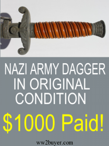 German Army Dagger Price