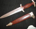 "S.A.DAGGERS.Selling an S.A.Dagger? DAVID MATTEY IS ON-LINE TO ANSWER INQUIRIES AND MAKE OFFERS WITHOUT OBLIGATION.    German Dagger Buyers pay in advance using the ""Paypal""service. Sellers will not be required to ship items until full payment is shown to have been deposited in their ""Paypal""Accounts.   Customers can expect to achieve around 70% of the list Prices seen on specialist websites for equivalent items. The selling process is immediate. German Dagger Buyers cover shipping costs and fees. Consigned collections and special items will achieve a greater return figure for sellers, potentially 80%-90% of dealers listed prices."