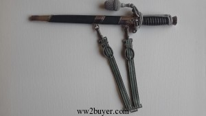 Land Customs Dagger with strap