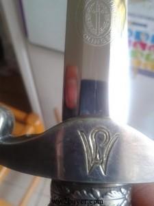 Paul Weyersburg personalised army dagger ( MJ?)