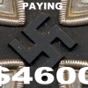 The Englishman who owns the$200,000,000 collection of Nazi Artifacts . Nazi Artifacts to gain some understanding of the complexities of this most contentious area I recommend the following article. As the crimes of the Nazi regime retreat further into the past, there seems to be an increasing desperation in the race to get hold of mementos of the darkest chapter of the 20th century.   In the market for Nazi memorabilia, two out of the three principal ideologies of the era — fascism and capitalism — collide, with the mere financial value of these objects used to justify their acquisition, the spiralling prices trapping collectors in a frantic race for the rare and the covetable An Englishman owns the largest collection of Third Reich Militaria When he was 5 years old, He received an unusual birthday present from his parents: a bullet-Damaged Waffen SS helmet, A lightning bolttransferon It's side. It was a special request. The next year, at a car auction in Monte Carlo, he asked his multimillionaire father for a Mercedes: the G4 that Hitler rode into the Sudetenland in 1938.  Father refused to buy it and his son cried all the way home. At 15, he spent birthday money from his grandmother on three WWII Jeeps recovered from the Shetlands, which he restored himself and sold for a tidy profit.  He invested the proceeds in four more vehicles, together with his very first tank. The Englishman begged his father to buy him Hitler's Mercedies when he was just six-years-old, and cried when his father refused. He now owns it. After leaving school at 16, he went to work for an engineering firm, and then for his father's construction company. He spent his spare time touring wind-blasted battle sites in Europe and North Africa, searching for tank parts and recovering military vehicles that he would ship home to restore. The ruling passion of his life, though, is what he calls the — widely regarded as the world's largest accumulation of German military vehicles and Nazi memorabilia. 