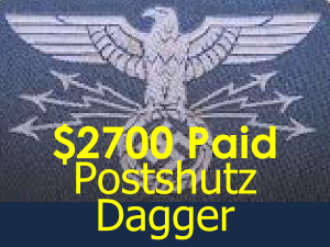 postal protection dagger price