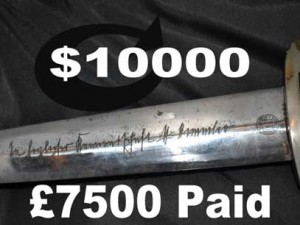 ww2 German dagger ss for sale