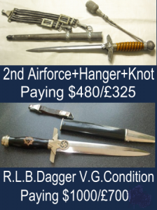 RLB Dagger Prices