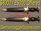 UK Dagger Buyer USA Nazi Germany Boker Solingen