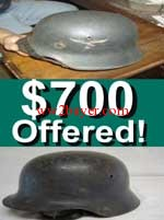 price for german helmet
