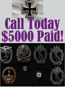Nazi Badge Prices