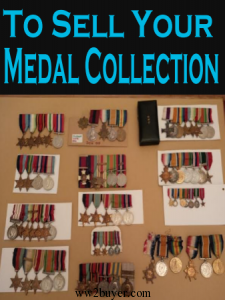 to sell medals