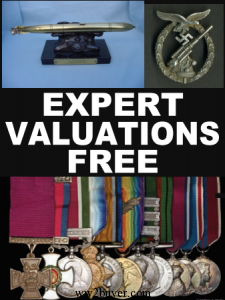 free militaria valuations
