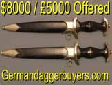 prices of German daggers
