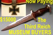 The hunt for German daggers