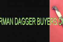 Selling a German Dagger collection Experts German Daggers