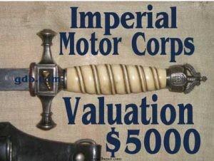 Imperial motor dagger valuation