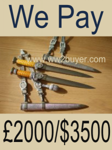 Selling German Daggers in the U.K.