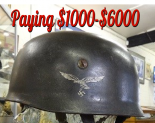 Museum Purchase Of German Helmets