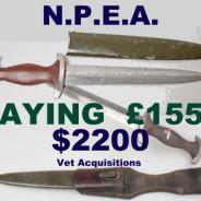 2019 prices for Nazi daggers