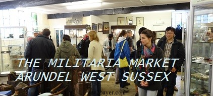 Militaria auction consultants