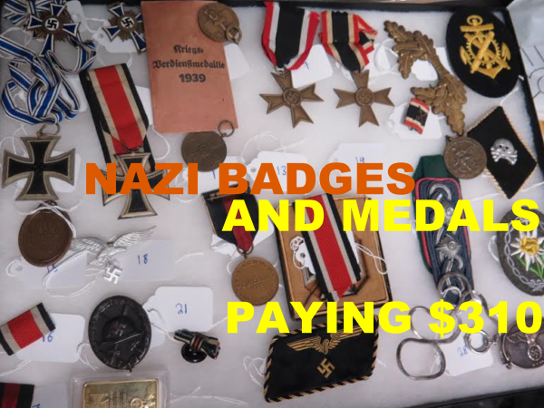 Why sell militaria now! 2019