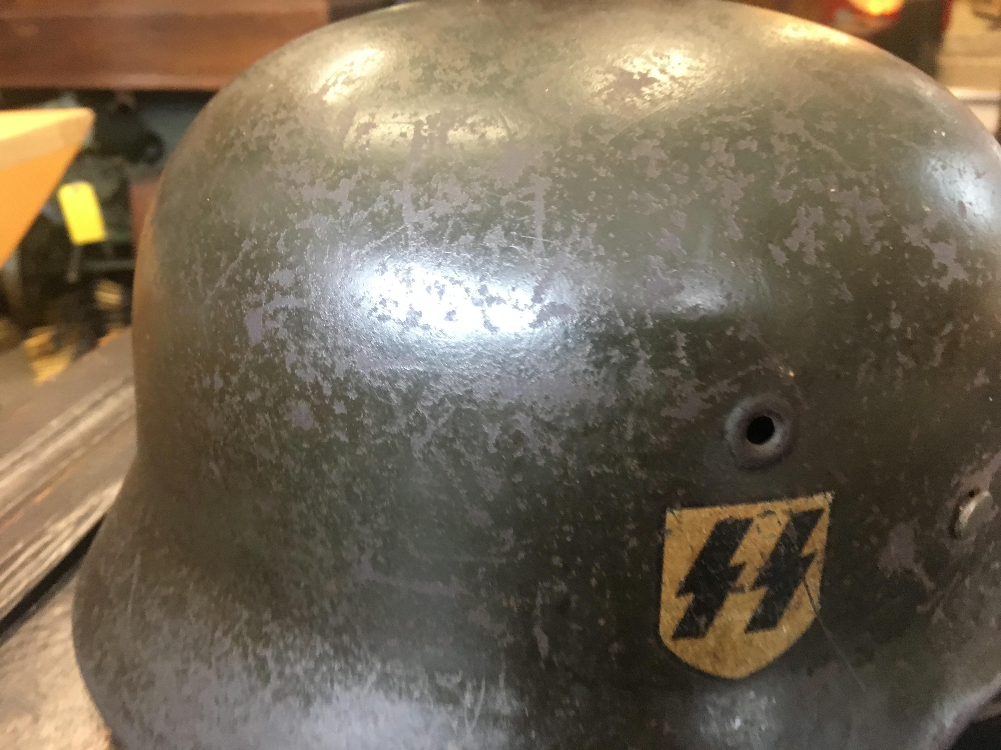 $4000 paid for good WW2 German Helmets
