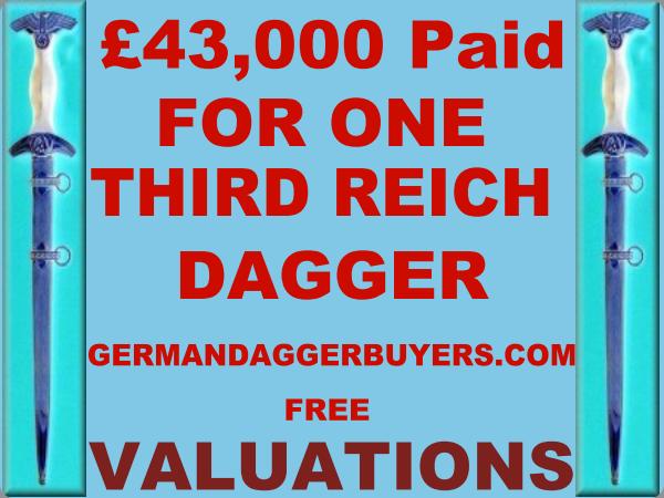 German Dagger Buyers | the militaria museum buyers